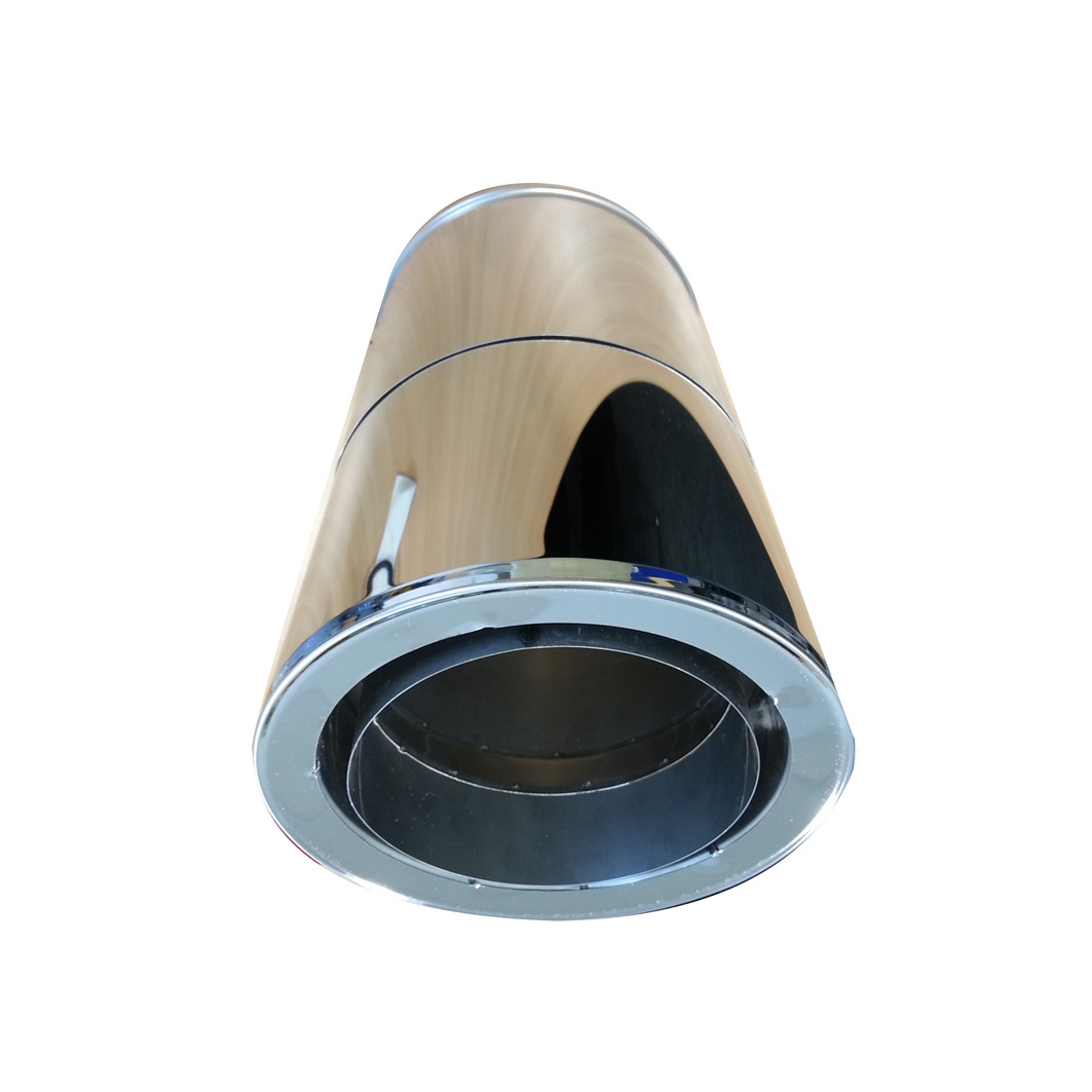 Adjustable Pipe Twin to Single Wall 300-450mm